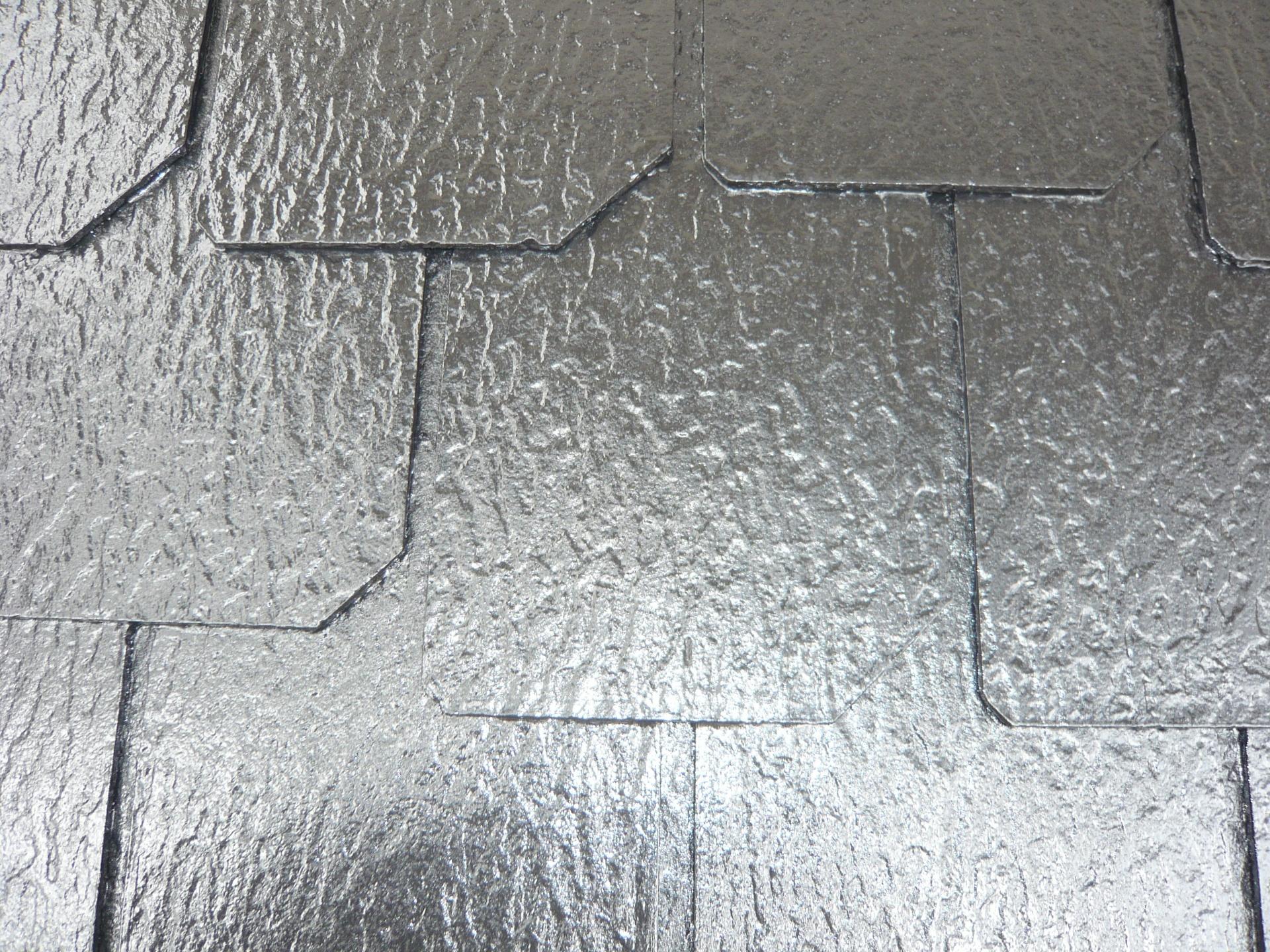 屋根カラーベストフッ素塗装