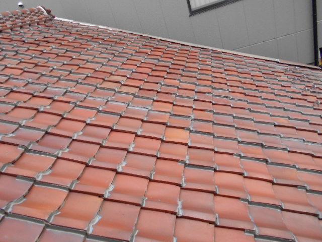 塩焼き屋根