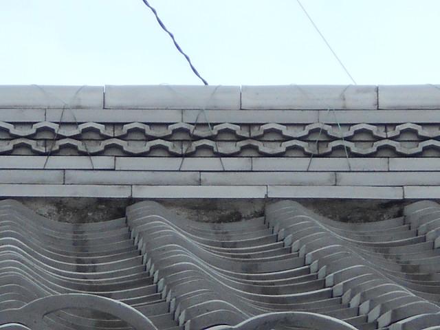 漆喰のハガレ