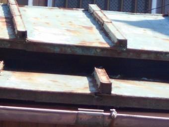 カラートタン瓦棒屋根現場調査