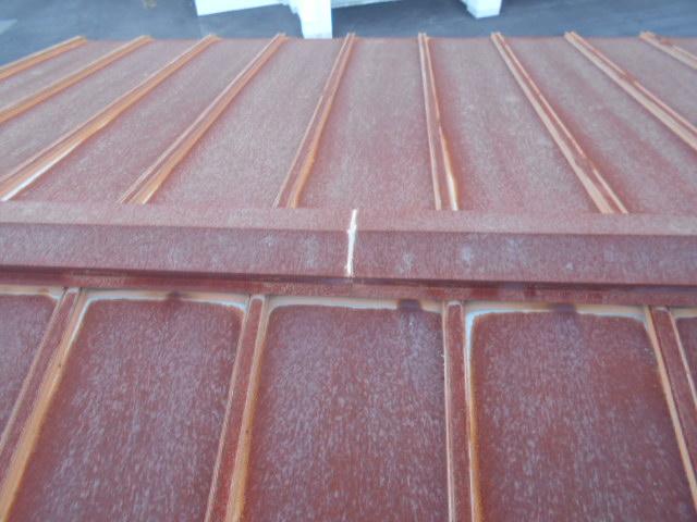 錆びトタン屋根