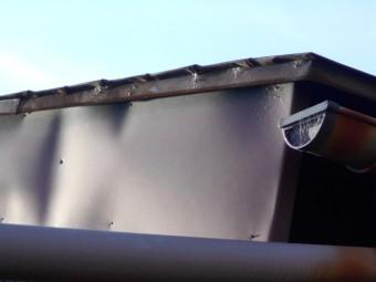 カラートタン横葺き現場調査
