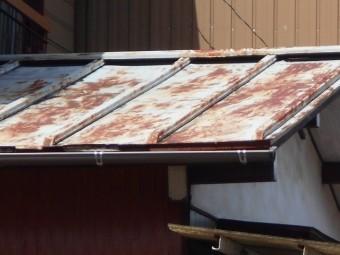 トタン瓦棒屋根現場調査