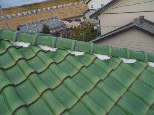 屋根工事施工