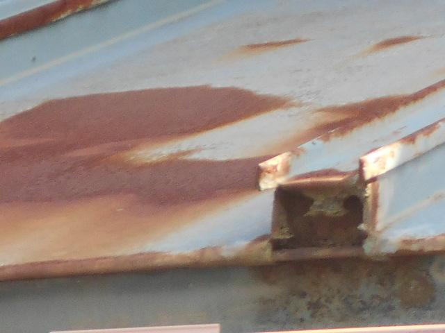 トタン瓦棒屋根