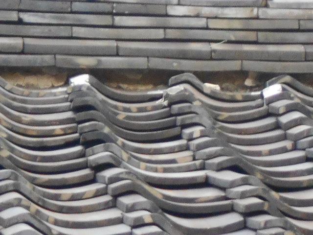 屋根漆喰無料点検