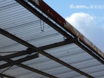 車庫の鉄骨無料調査