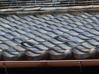 屋根漆喰調査