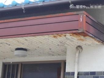 玄関屋根調査