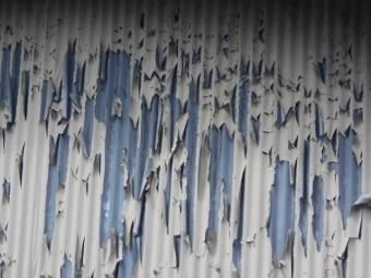 波トタン壁調査