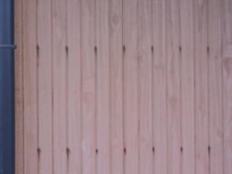 外壁とタン調査
