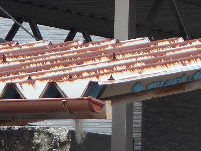 折半屋根調査