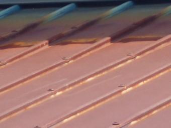 カラー鋼板瓦棒屋根調査