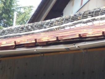 カラトタン瓦棒屋根調査