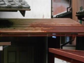 カラートタン横葺き屋根調査