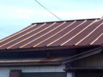 カラートタン屋根調査