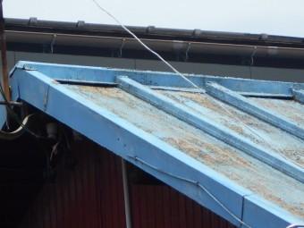 カラートタン瓦棒屋根調査