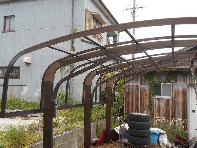 カーポート屋根調査