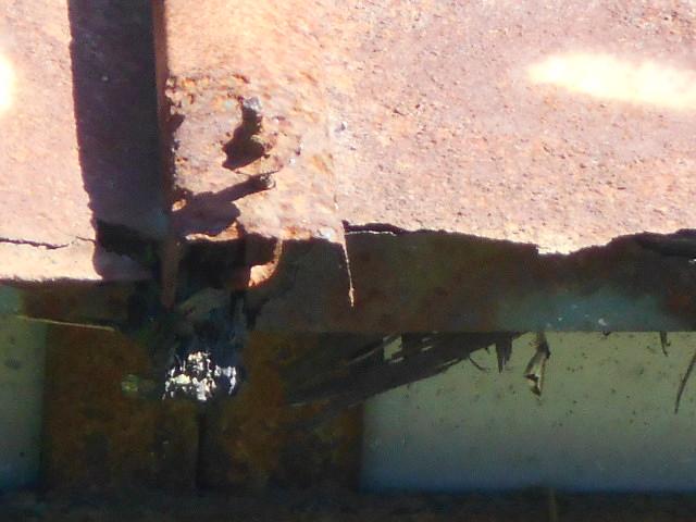 トタン屋根現場調査