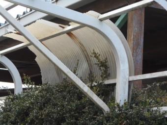 カーポートの屋根調査結果