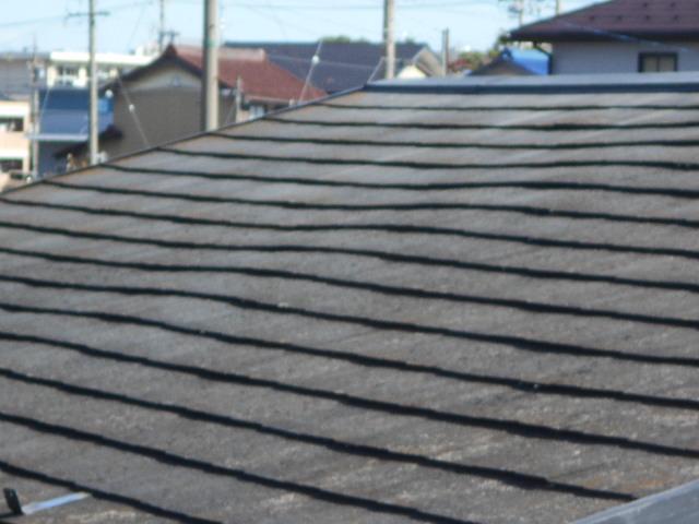 大垣市にてスレート屋根を調査屋根カバー工事でのメンテナンスをご提案