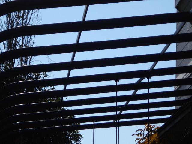 大垣市 カーポート屋根が風災被害で飛散して無くなっています。復旧お願いします