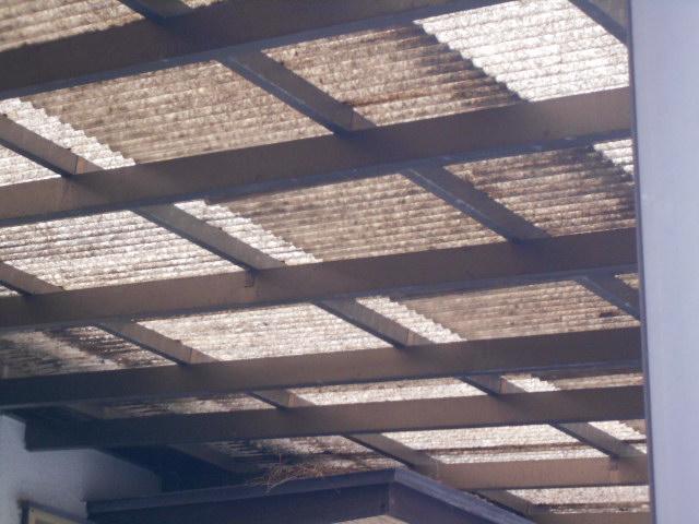テラス屋根調査