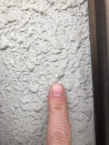 モルタル外壁のはくり