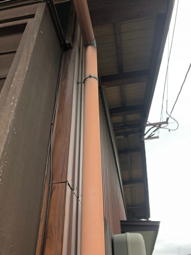立樋の劣化