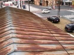 瓦棒屋根の施工前