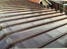 瓦棒屋根塗装の施工後