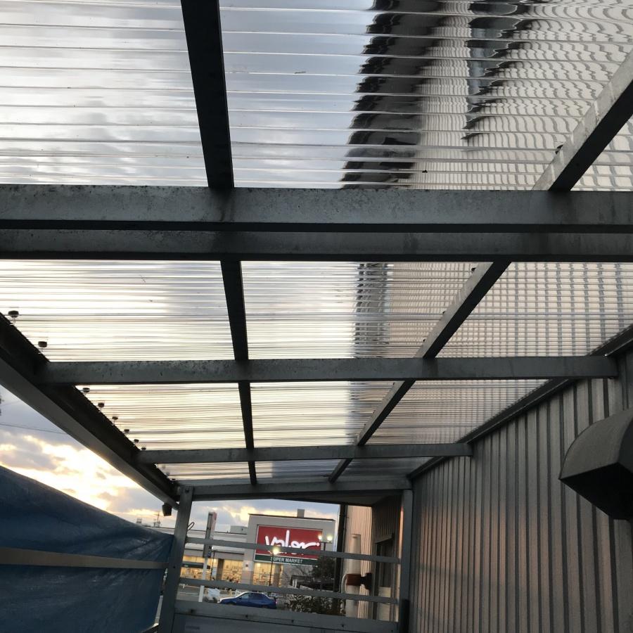 岐阜市 台風で屋根が飛んでった??現場調査に向かった。