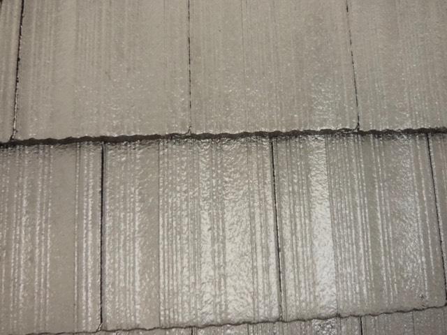 モニエル瓦塗装工事 マイティーシリコン使用