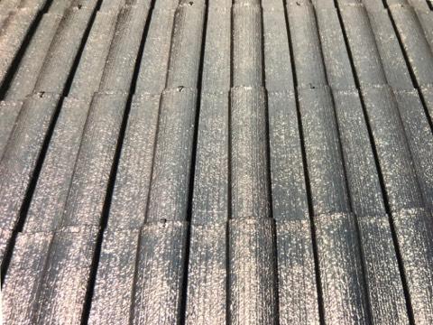 ブルック瓦 屋根塗装工事 施工後