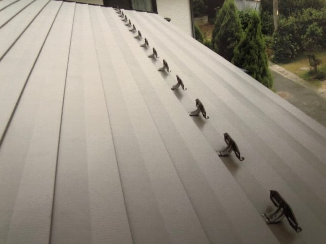 ガルバリウム鋼板カバー工法