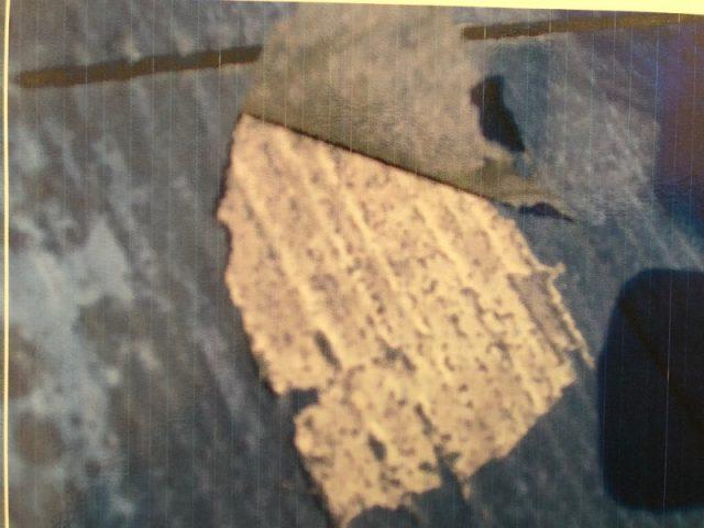 カラーベストの塗膜の剥離