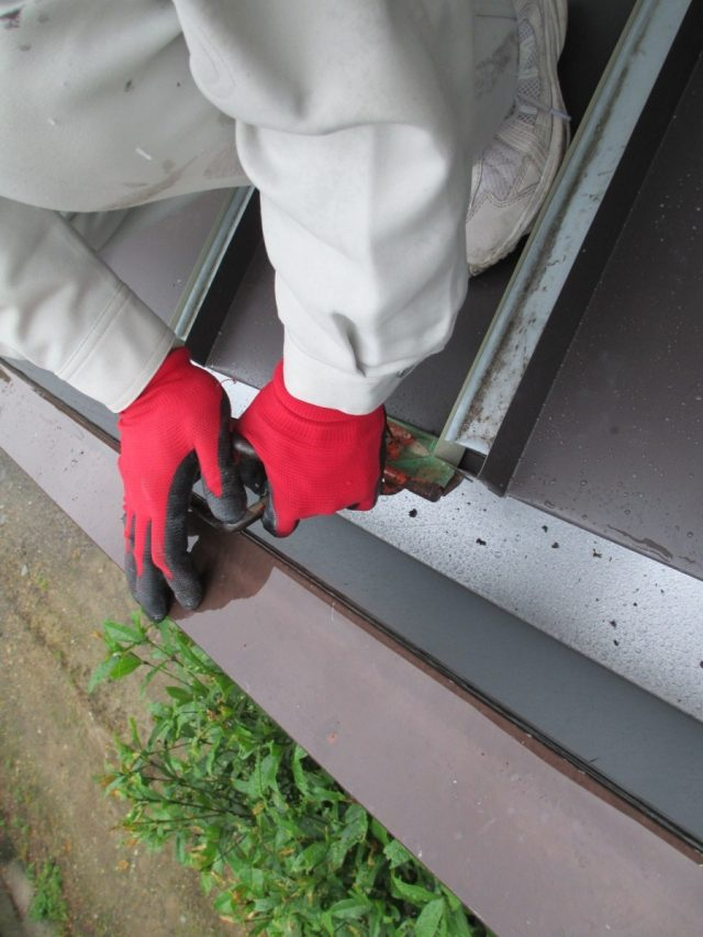 ガルバリウム鋼板 カバー工法