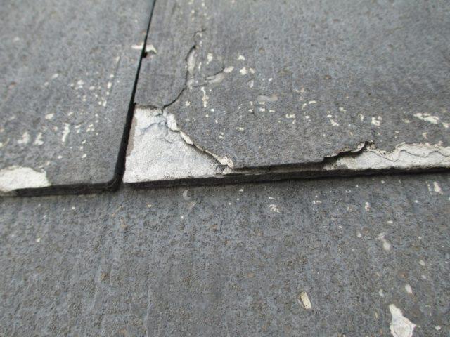 パミール屋根点検 剥離