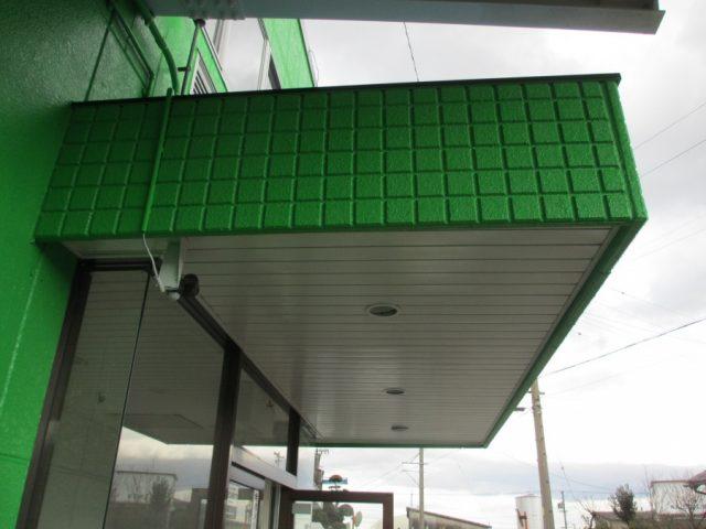 外壁塗装パーフェクトトップ 玄関天井板金