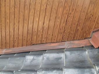 瓦屋根雨漏り現場調査