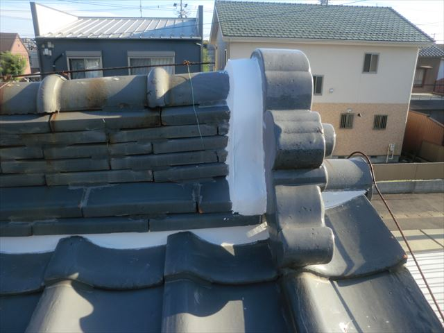 屋根工事写真