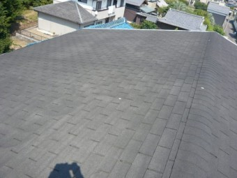 アスファルトシングル屋根の防水切れ