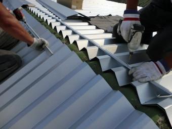 折版カバー工法