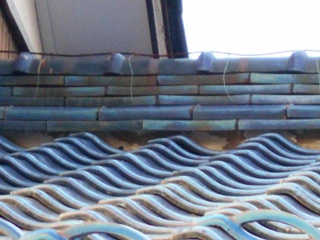 岐阜市 屋根瓦ズレ、三日月漆喰の見積もりがほしいとお問い合わせ。点検調査に行ってきました。