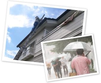 台風前後の点検は街の屋根やさんにお任せください!