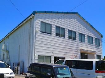 外壁塗装によって美しく蘇った工場